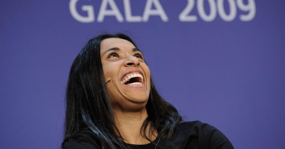 Marta participa pela quinta vez da premiação anual de melhor do mundo da Fifa