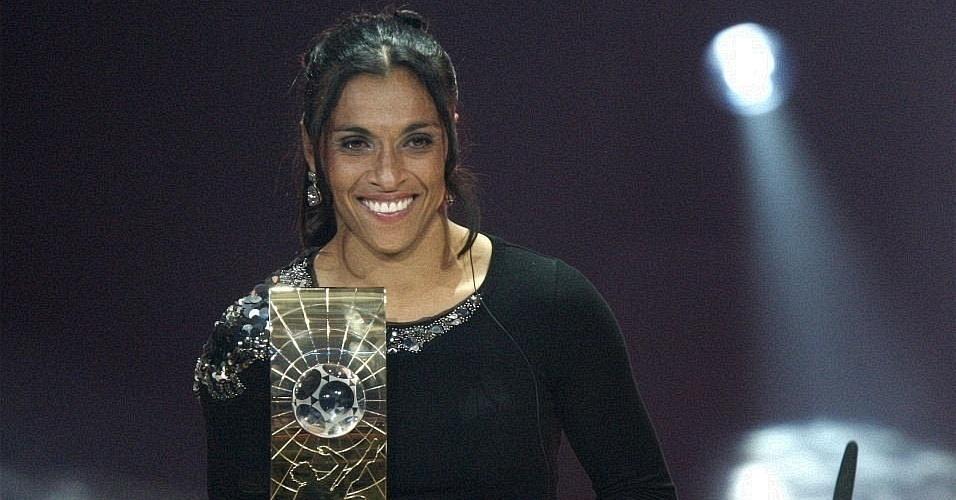 Pela quarta vez, Marta foi eleita pela Fifa como a melhor jogadora do mundo
