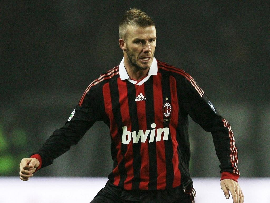 David Beckham, jogador do Milan