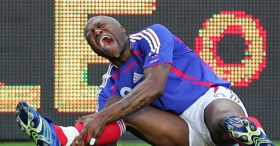 Cissé sofre contusão em 2006