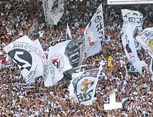 Jogadores do Vasco contam com o apoio dos torcedores na partida do próximo dia 5 de maio