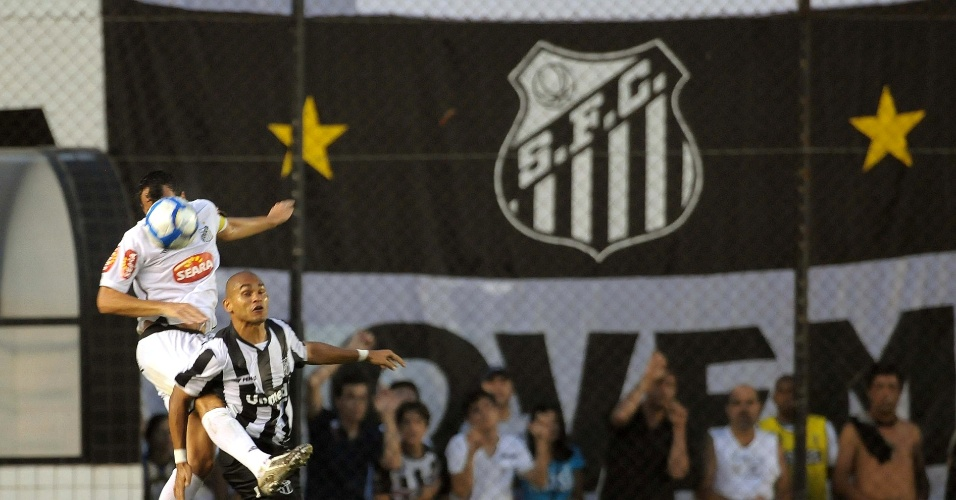 Washington, do Ceará, na partida contra o Santos