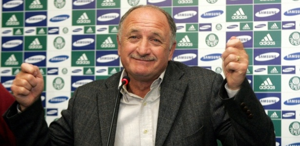 Tcnico Luis Felipe Scolari deve se apresentar ao Palmeiras aps a Copa do Mundo