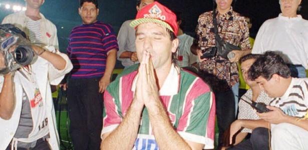 Com 2 gols na final com o Fla, um deles de barriga, Renato foi o heroi tricolor em 95