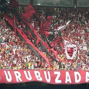 Torcida do Fla no Maracanã. Superlotação impediu que torcedor com ingresso entrasse no estádio