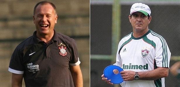 Mano Menezes e Muricy Ramalho