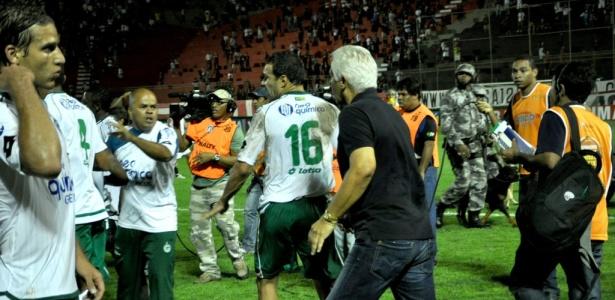 Repórter da Rádio Metrópole foi agredido por jogador do Goiás