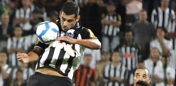 Diego Souza durante jogo do Atlético-MG