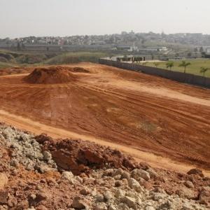 Terreno onde será erguido o estádio do Corinthians