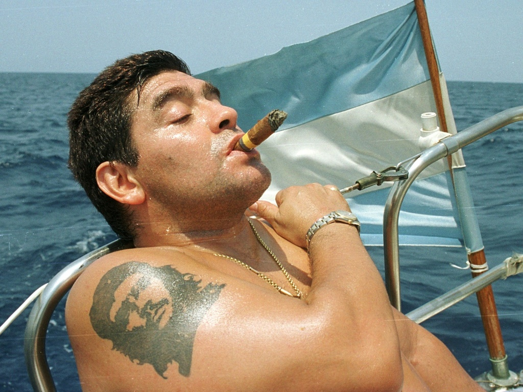 Tatuagem de Maradona