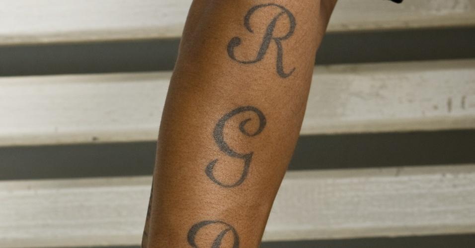 Tatuagem de Roberto Carlos