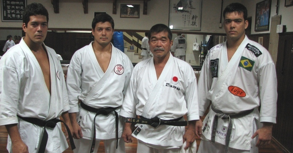 Família Machida: Take, Shinzo, Yoshizo e Lyoto