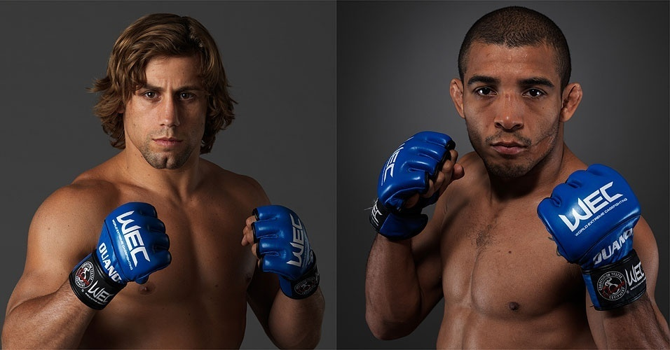 Urijah Faber x Jos Aldo: luta vale pelo ttulo dos pesos pena do WEC neste sbado