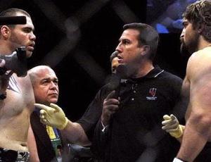 Big John antes de comandar luta de Tim Sylvia