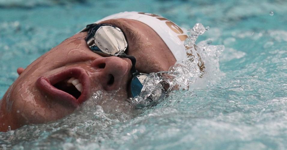 César Cielo disputa a eliminatória dos 50 m livre no Troféu Maria Lenk