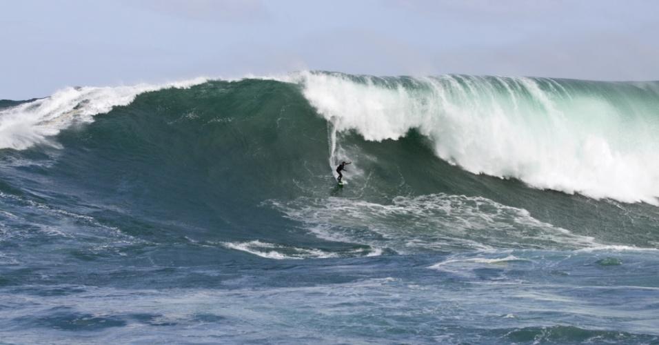 A surfista Maya Gabeira conquistou neste ano o 'Oscar das ondas gigantes' pela quarta vez