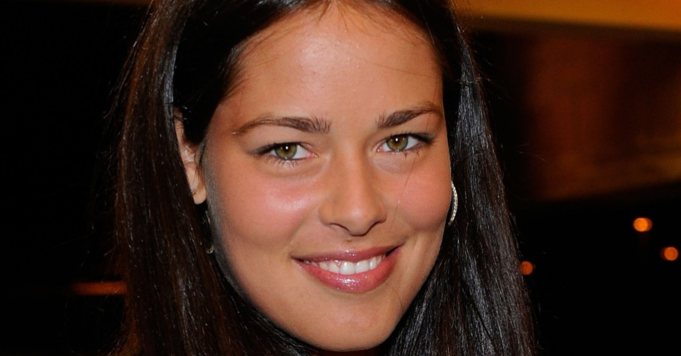 Sérvia Ana Ivanovic chega para festa do Torneio de Indian Wells, nos Estados Unidos