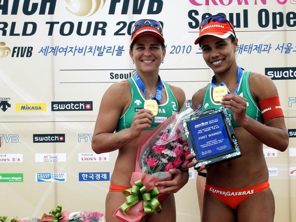 Dupla Juliana/Larissa venceu o Grand Slam de Stavanger, na Noruega