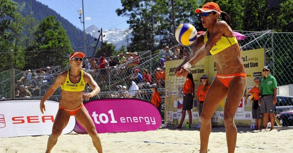 Juliana e Larrisa avançam às oitavas na etapa da Suíça