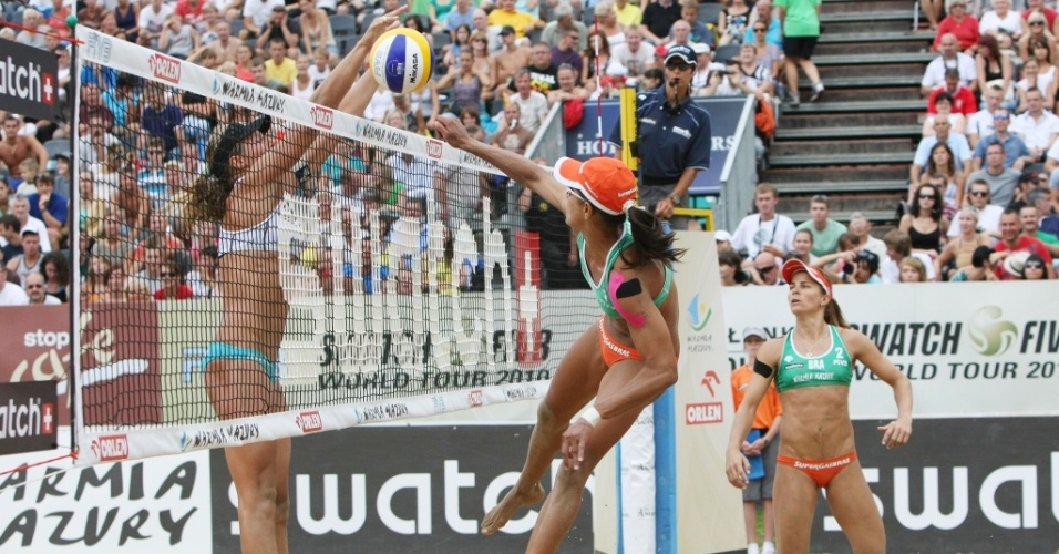 Juliana e Larissa igualam feito das norte-americanas Kerry Walsh e Misty May-Treanor