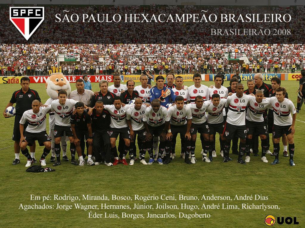 Resultado de imagem para São Paulo hexacampeão brasileiro