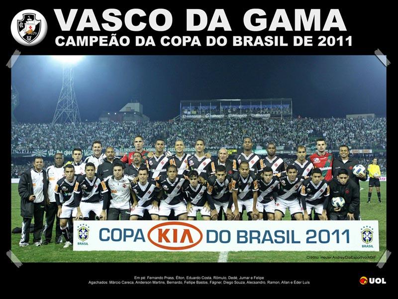 vasco copa do brasil 800x600 Vasco é campeão da Copa do Brasil 2011