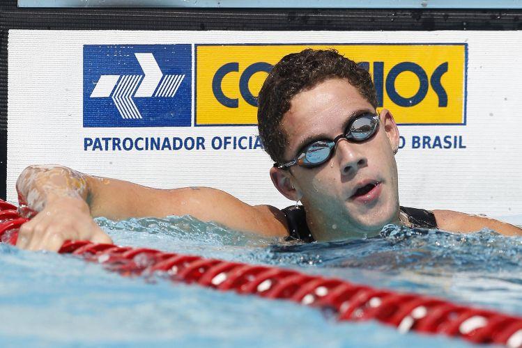 Nadador do Minas marcou o tempo de 2min13s37