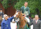 João Victor Marcari Oliva, filho de Hortência e cavaleiro do adestramento - 26.mar.2014 - João Victor Marcari Oliva conquistou um ouro e uma prata no individual dos Jogos Sul-Americanos do Chile em 2014.
