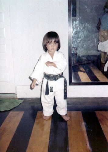 Desde de pequeno Lyoto Machida já levava a sério o caratê