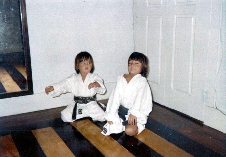 Lyoto e seu irmão Chinzô Machida