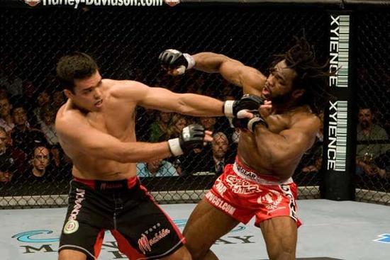 Já no UFC 79, o brasileiro Lyoto Machida derrotou o camaronês Rameau Thierry Sokoudjou