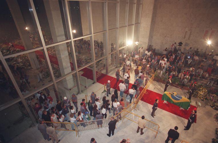 Velorio do piloto Ayrton Senna na Assembleia Legislativa