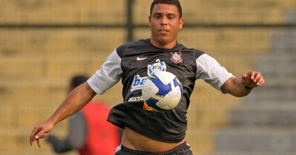 A barriga de Ronaldo