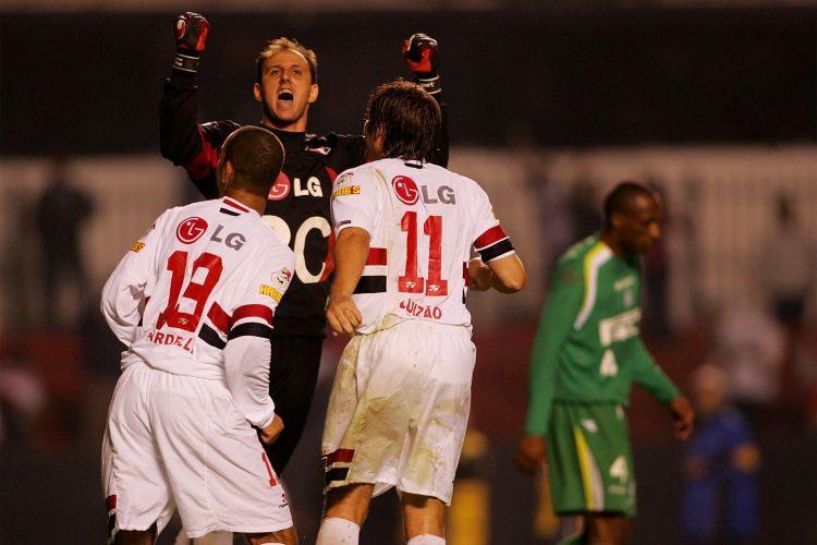 Na Libertadores de 2005, ele foi decisivo contra o Palmeiras