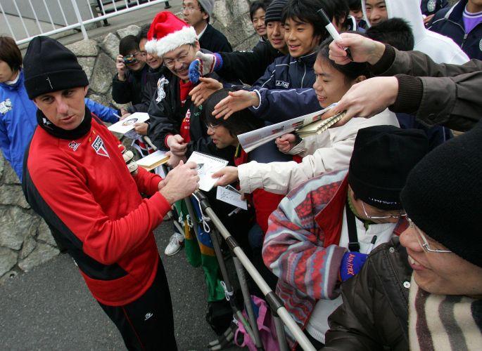 No fim do ano, Rogério Ceni era um dos mais assediados no Japão