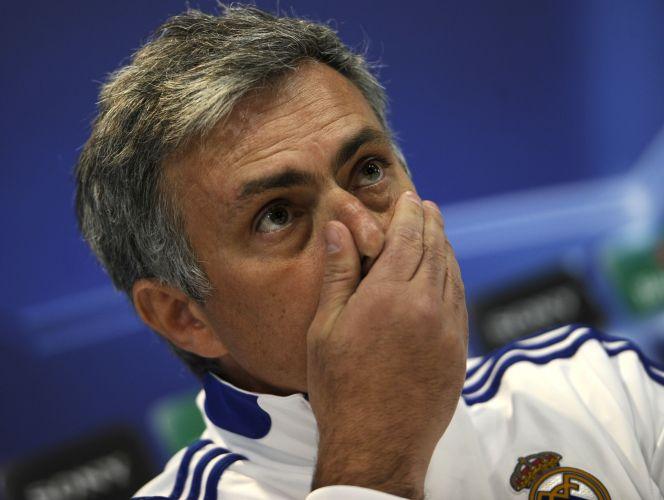 José Mourinho concede entrevista nesta terça, véspera da partida entre Real Madrid e Lyon. Na primeira partida, em Lyon, as equipes empataram por 1 a 1 pelas oitavas de final da Liga dos Campeões