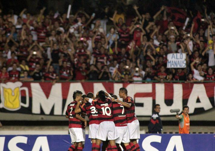 Fla cumpre missão fora de casa, vence o Fortaleza por 3 a 0 e garante classificação para as oitavas de final sem precisar disputar o jogo de volta