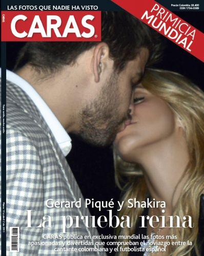Namoro entre Shakira e Gerard Piqué foi mantido em segredo por algum tempo, mas hoje já é assumido publicamente pelo casal