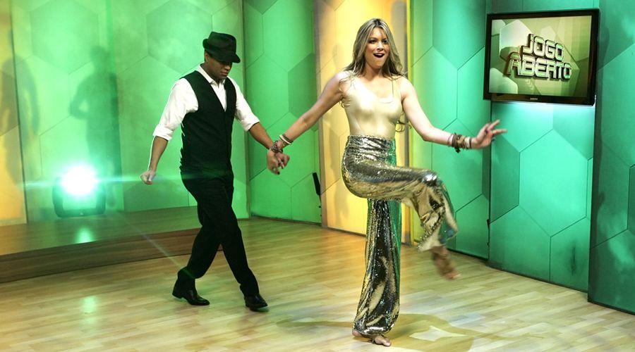 A dança da musa levantou a audiência do programa, que chegou a 6 pontos de audiência
