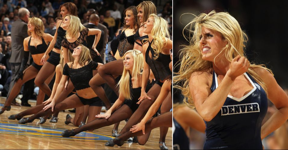 A beleza das animadoras de Denver não se refletiu em votos. As meninas dos Nuggets caíram logo na primeira rodada do torneio de cheerleaders da NBA, eliminadas pelo Golden State Warriors