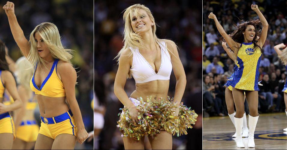 As belas cheerleaders do Golden State Warriors mostraram que também são boas de votos. Chegaram à final da Conferência Oeste no concurso promovido pela NBA, sendo eliminadas pelas vice-campeãs do Sacramento Kings