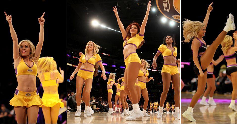 Atuais bicampeões da NBA, os Lakers também fazem sucesso fora de quadra. Suas belas dançarinas chegaram às semifinais do torneio de cheerleaders promovido pela NBA, eliminando Blazers e Hornets, mas acabaram superadas pelo Golden State Warriors