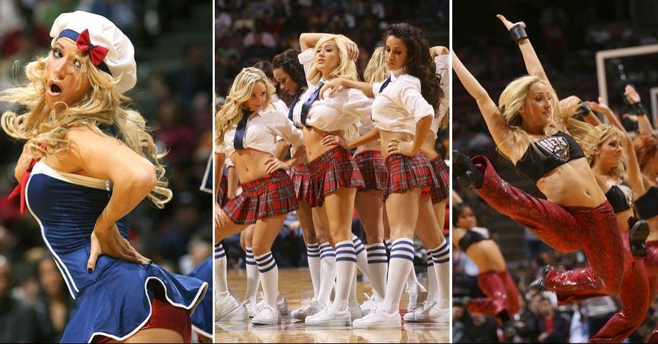 As meninas de Nova Jersey esbanjaram talento, mas não obtiveram o resultado esperado. Em votação apertada, foram eliminadas do torneio de cheerleaders da NBA no ainda na primeira rodada, em duelo contra o New York Knicks