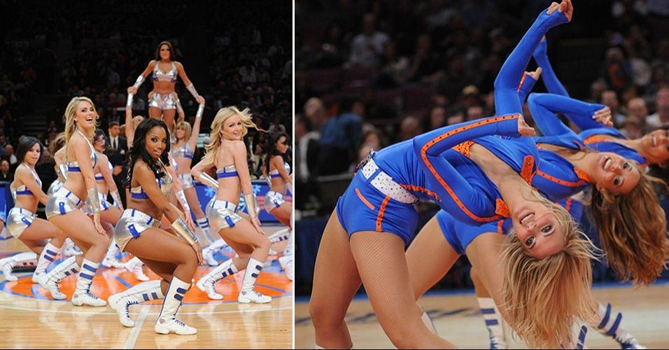 O time de Nova York mostrou toda a sua popularidade no concurso de cheerleaders da NBA. As meninas dos Knicks chegaram às finais da Conferência Leste, sendo eliminadas pelas bicampeãs do Charlotte Bobcats