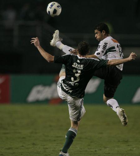 Wellington Paulista faz sua primeira partida como titular da equipe do Palmeiras