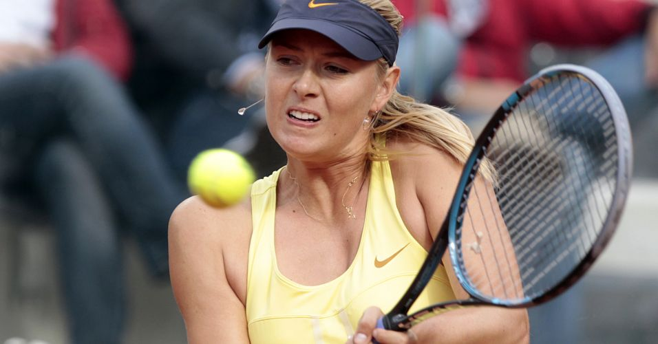 Maria Sharapova vence a australiana Samantha Stosur e conquista título no WTA Premier Roma após um ano de jejum