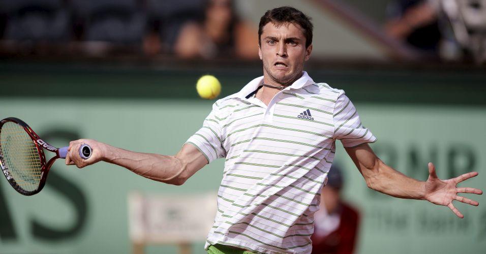 A tenista russa Maria Sharaporava não teve trabalho para vencer a croata Mirjana Lucic em sua estreia em Rolad Garros