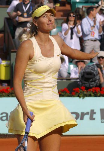 Sharapova busca seu quarto título de Grand Slam em Roland Garros neste ano.