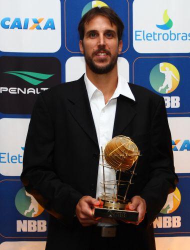 Marcelinho Machado, do Flamengo, ganhou o prêmio de cestinha do NBB pelo terceiro ano consecutivo
