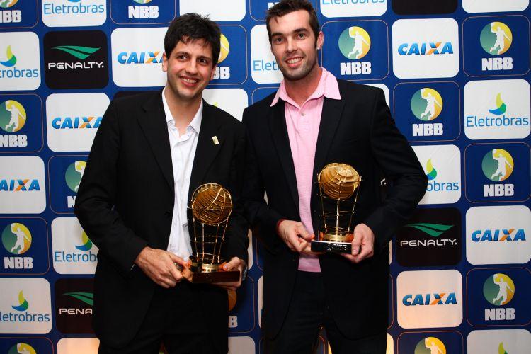 Guilherme Giovannoni, do Brasília, e Murilo, do São José, foram eleitos os melhores pivôs do NBB3
